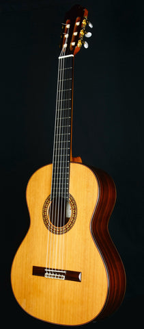 Almansa 457 Featuring Solid Canadian Cedar Top, Solid Rosewood Back & Sides, and an Ebony reinforced neck