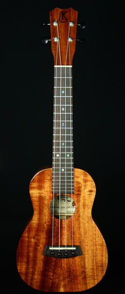 Kanile'a Concert Ukulele  Model: K-1 Deluxe with Case   Made in Hawaii