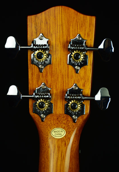 Ohana PKC-50G Pineapple Concert-scale.  All Solid: Cedar Top & Mahogany Back and Sides