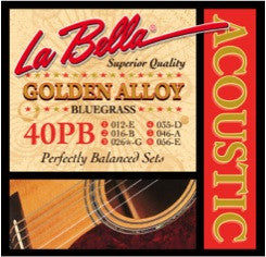 La Bella 40PB Acoustic Strings