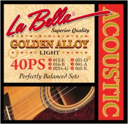 La Bella 40PS Acoustic Strings