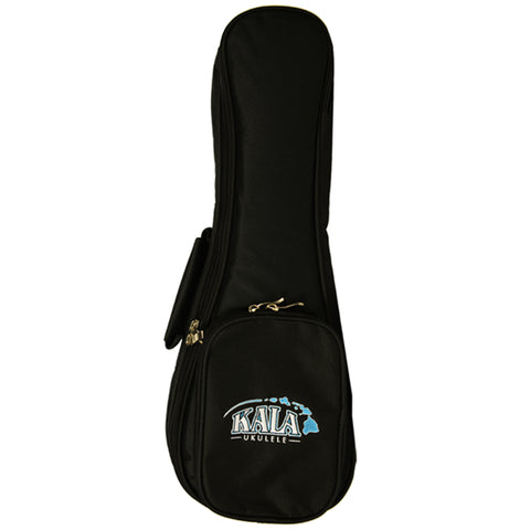 KALA  DELUXE CONCERT SIZED PADDED UKULELE GIG BAG WITH KALA HAWAIIAN LOGO
