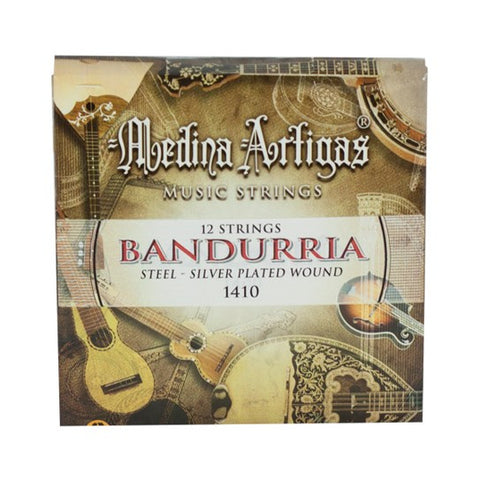 MEDINA ARTIGAS BANDURRIA STRINGS STEEL 1410