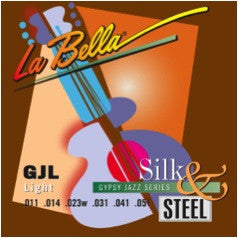 La Bella Gypsy Jazz Light Strings GJL