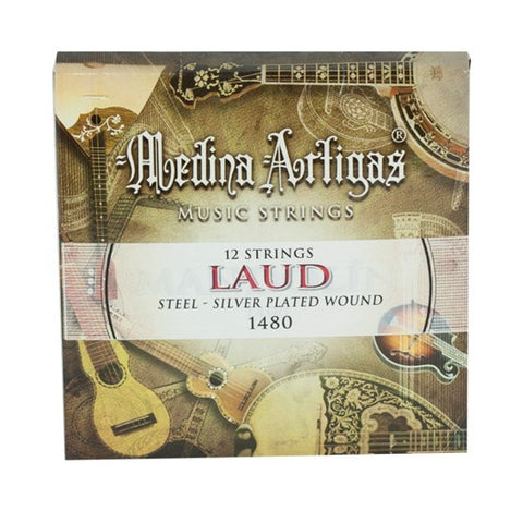 MEDINA ARTIGAS LUTE STRINGS STEEL 1480
