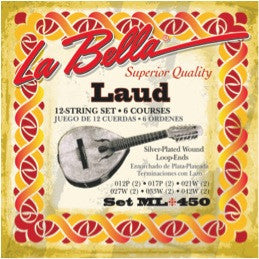 La Bella ML 450 Laud Strings
