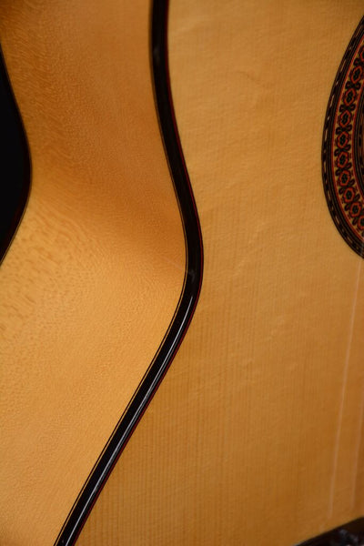 ALMANSA 413 Sycamore Flamenco Guitar   New