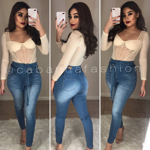 Jacob High Rise Jeans