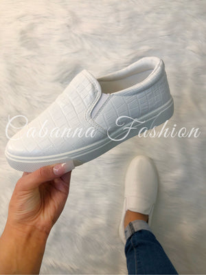 Layla Shoes - (WHITE)