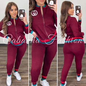 Warm Trips GG Set - (BURGUNDY / ONE SIZE)