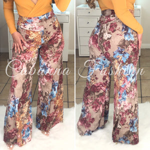 Lyra Bottoms - (FLORAL)