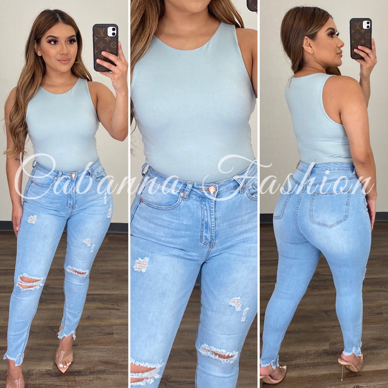 Real Timing Bodysuit - (BLUE)