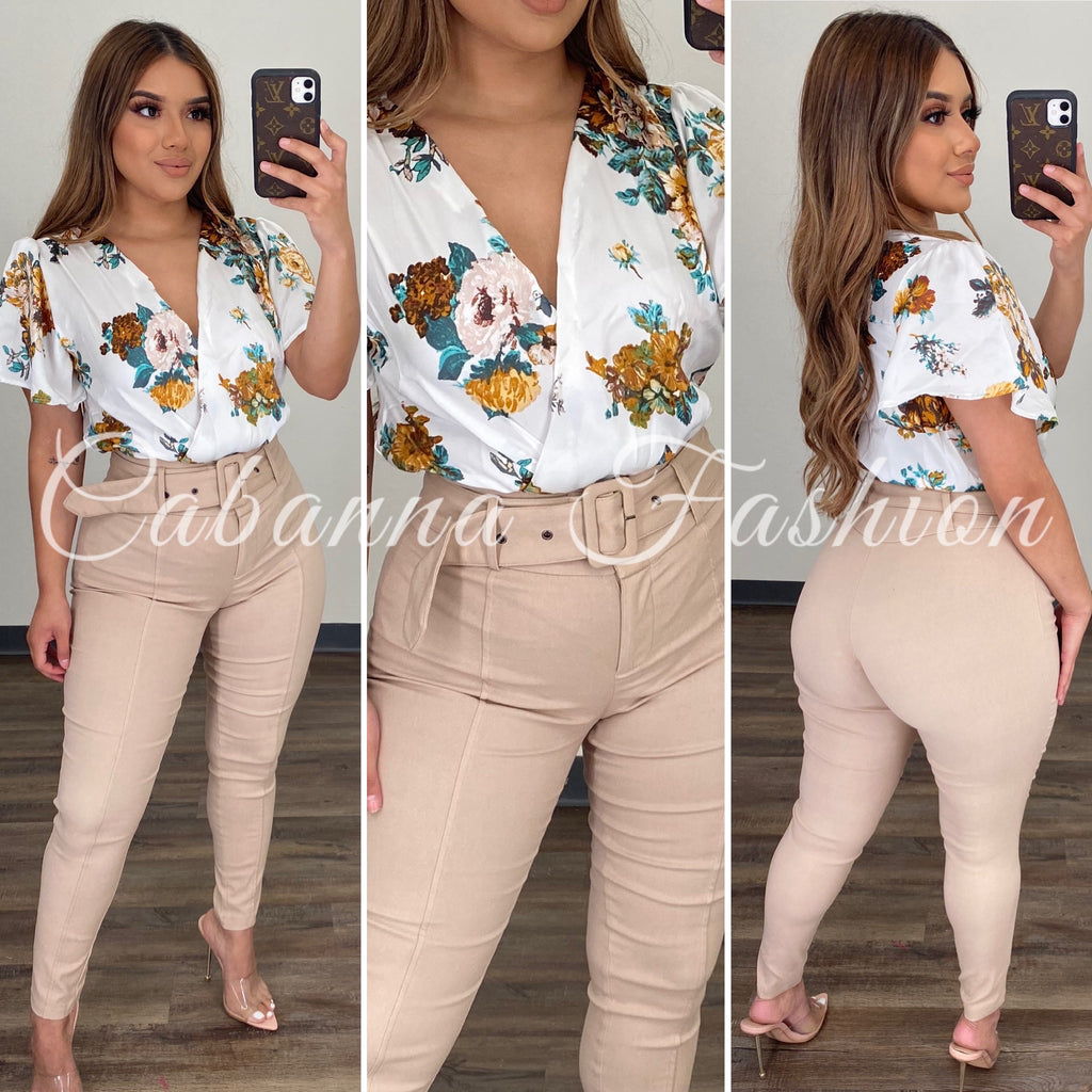 Staying Fresher Bodysuit - (IVORY)