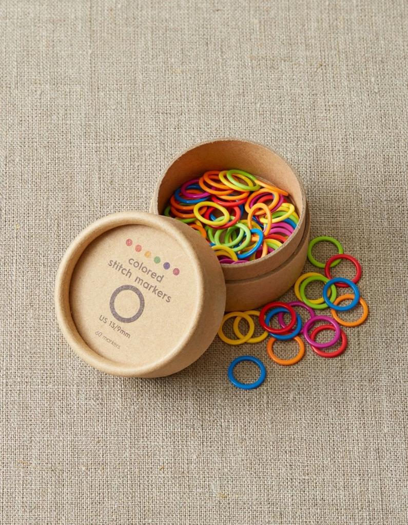 Colored Ring Stitch Markers - Original