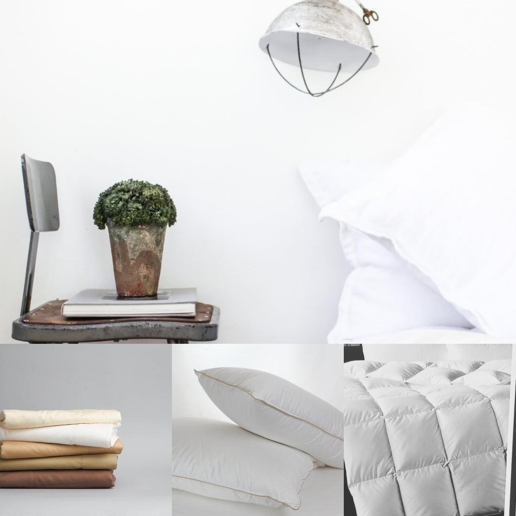 Luxury White Down Pillows