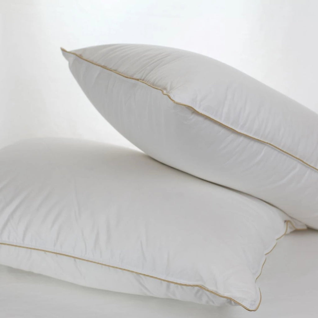 Cozy White Down Pillow