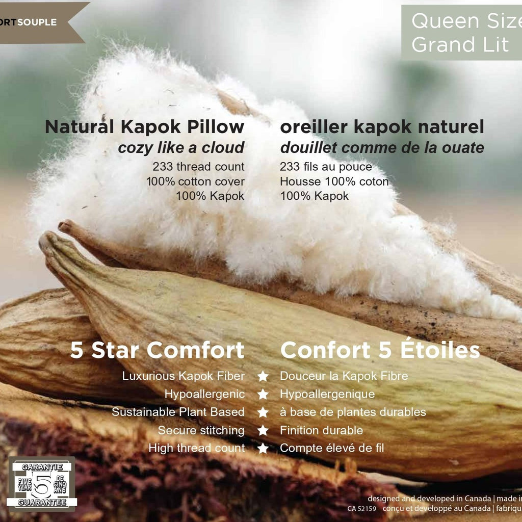 Kapok Pure Dream Plant Based Pillow