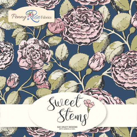"Sweet Stems - 10"" Squares"