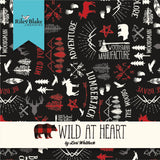 "Wild at Heart - 10"" Squares"