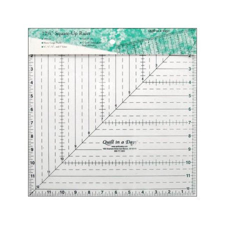 "12 1/2"" Square Up Ruler by Quilt in a Day"