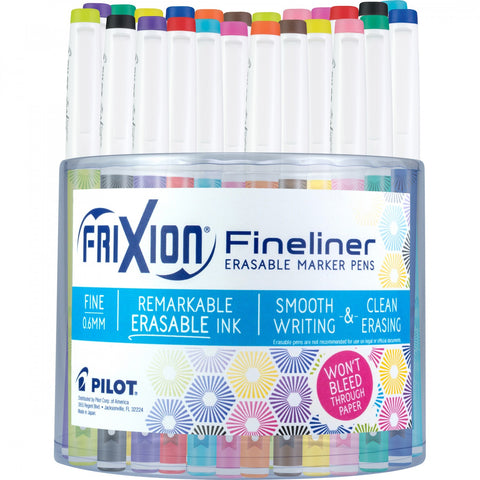 Frixion Fineliner - Assorted Colours