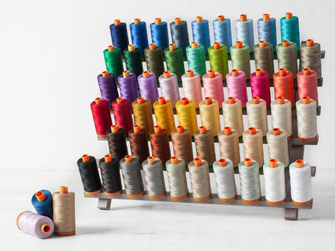Aurifil 40/2 wt Mako Thread - Assorted Colours