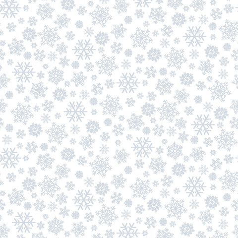 White on White Snowflake