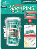 Tailor Mate Magic Fine Patchwork Pins - 100 pieces