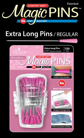Tailor Mate Magic Pins Extra Long - 100 pieces