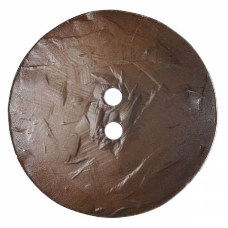 45mm Brown Button