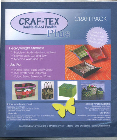 Craf-tex Plus Double Sided Fusible Non-Woven Heavyweight (437FB-20)