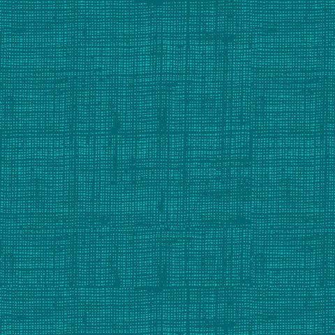 Teal Linen Texture - Into the Woods