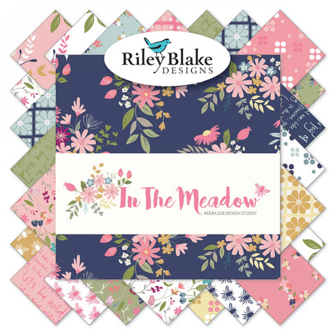"In the Meadow - 5"" Squares"