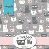 "Purrfect Day - 5"" Squares"