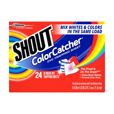 Shout Color Catcher Dye-Trapping Sheet (24 Ct)
