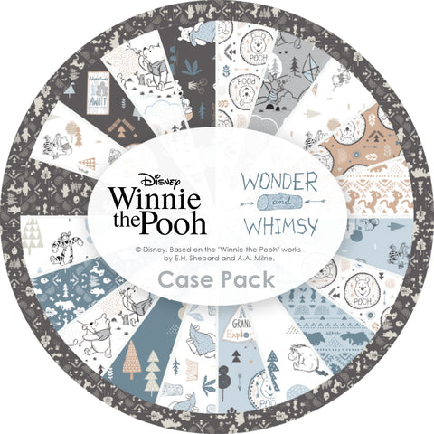 "Disney's Wonder & Whimsy (Winnie the Pooh) - 5"" squares"