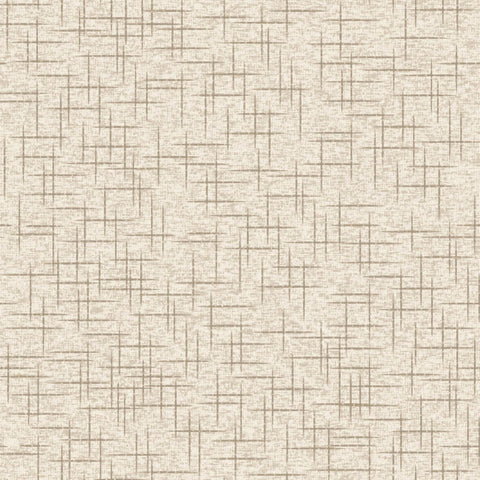 Make Yourself at Home - Taupe/Tan Linen Texture