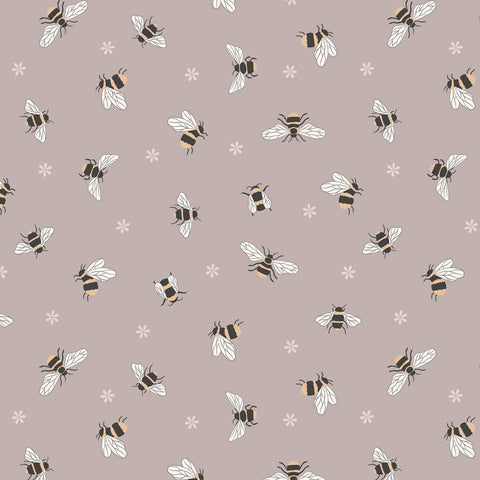 Bees On Warm Beige