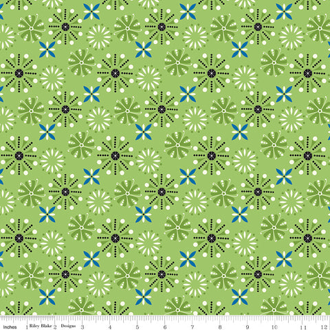 Oh Happy Day Florals - Green