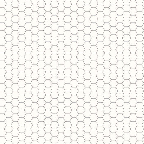 Backgrounds Honeycomb - Grey