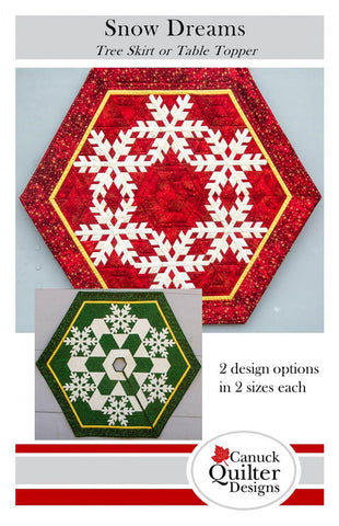 Snow Dreams Tree Skirt or Table Topper