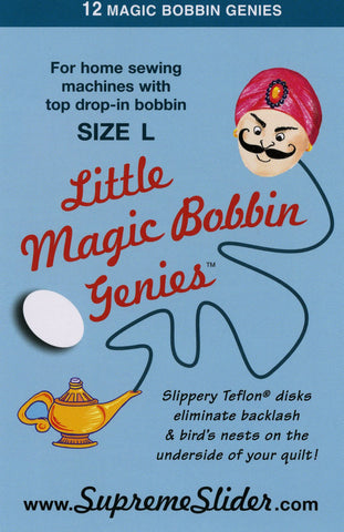 Bobbin Little Magic Genie's (Drop-In)