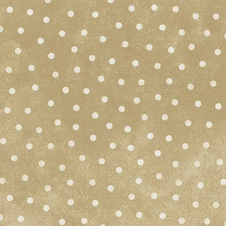 Woolies Flannel - Cream Dot