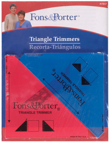 Triangle Trimmers Rulers