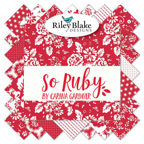 So Ruby Fat Quarter Bundle (15 pieces)