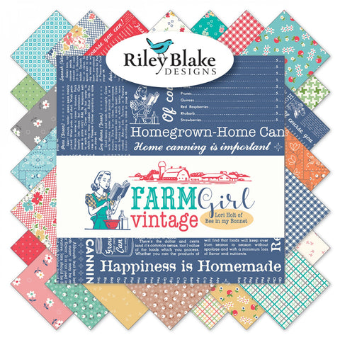 Farm Girl Vintage - Fat Quarter Bundle (34 pieces)