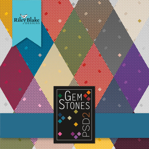 Gemstones Fabric Roll