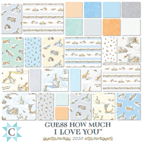 Guess How Much I Love You? Fat Quarter Bundle