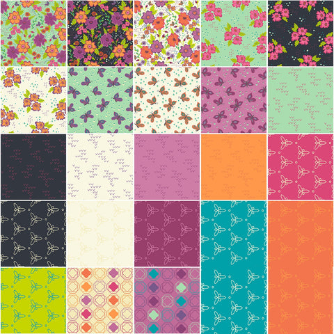 Gypsy Fat Quarter Bundle (23 pieces)