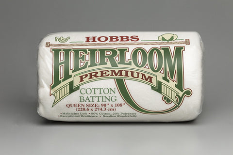 "Heirloom Premium 80/20 Cotton Blend 96"" wide"
